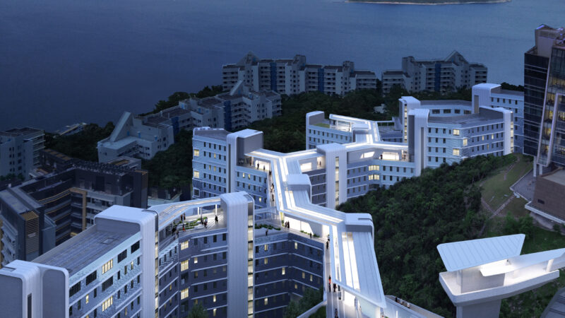 L&O and ZHA unveil new design for Student Residence Development at the Hong Kong University of Science and Technology