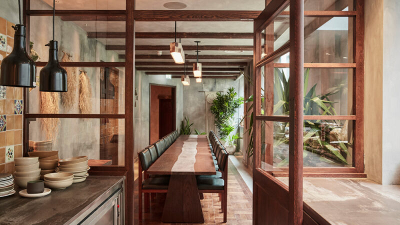 A-nrd studio brings to life the spirit of Mexico through materiality, craft and inherent humbleness