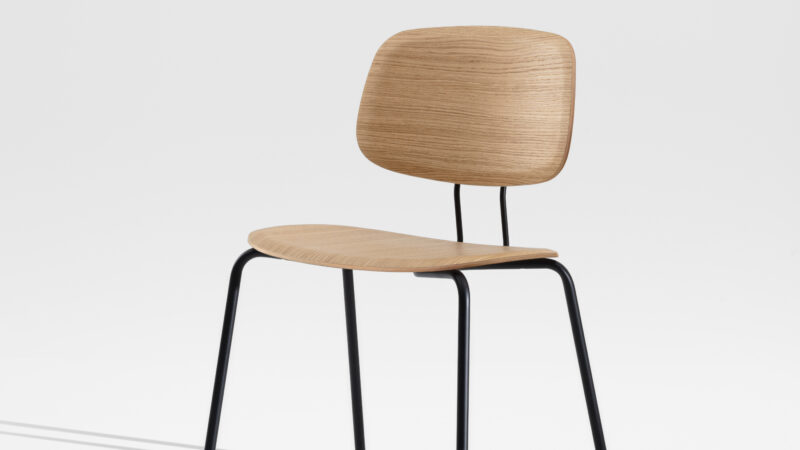 OKITO PLY DINING the dining chair version for a wide range of applications