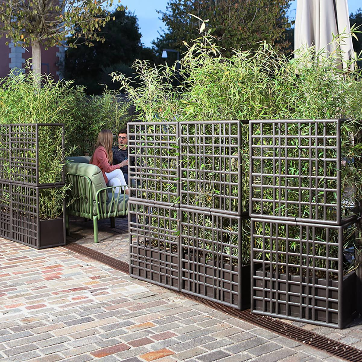 """SIPARIO the new """"eco"""" partition wall by Nardi Outdoor"""