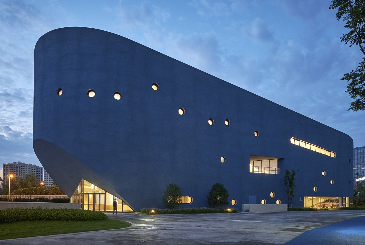 Pinghe Bibliotheater by OPEN Architecture