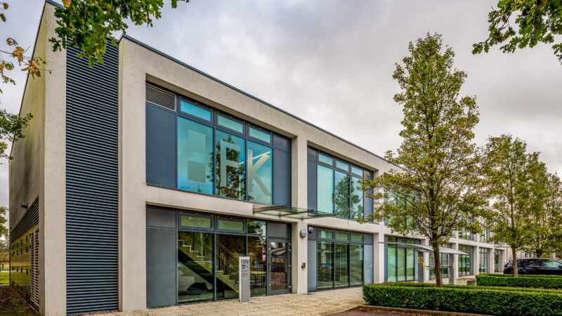 Workplace specialists align have completed a new HQ scheme for accountancy firm Foxley Kingham in Luton UK